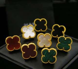 Designer earrings VanCleef