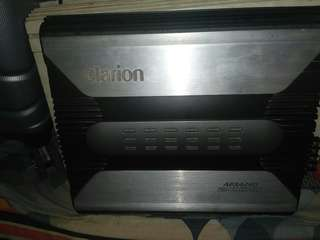 Clarion Amplifier