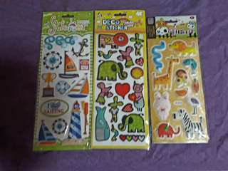 Stickers bundle of 6