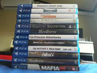 PS4 Games RUUUSH!!!