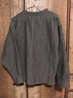 BN oversized ribbed pullover