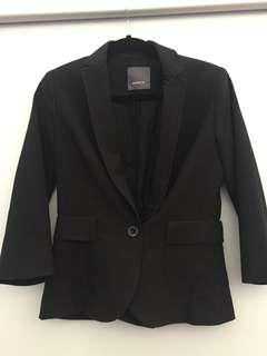 Marcs size 8 fitted cropped blazer