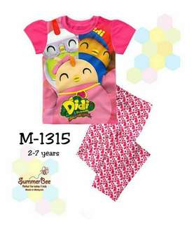 Baju Tidur Budak SummerBee Kids Sleepwear Pyjamas