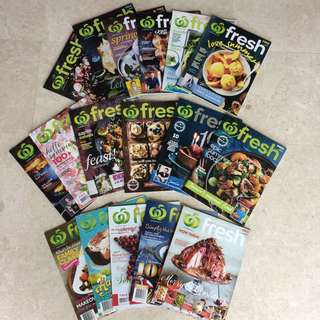Fresh Recipe Magazines