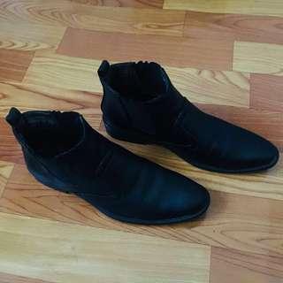 LEAVELAND Black Shoes For MEN