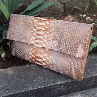 Reptails snakeskin python bags and wallets