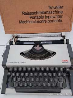 Vintage Portable Typewriter