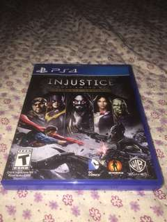 Ps4 Games Injustice