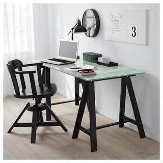Ikea trestle table (Oddvald)