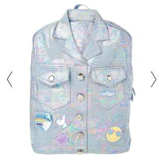Smiggle Denim Jacket Backpack - wil be available end of July