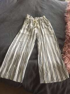 Striped Cutlottes- Size S/M