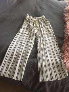 Striped Cutlottes- Size S/M