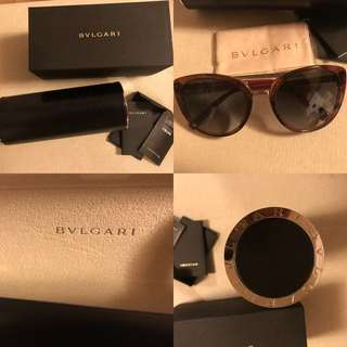 🈹️低於半價100% real 98% new bvlgari sunglasses