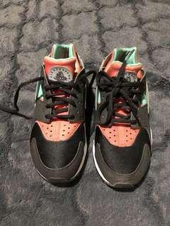 Nike huarache black menta hot lava AUTHENTIC