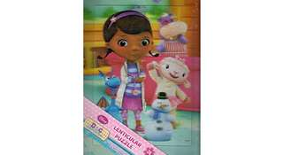Disney Doc McStuffins and Minnie & Daisy 3D 24pc Lenticular Tray Puzzle