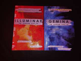 Illuminae and Gemina by Jay Kristoff and Amie Kaufaman