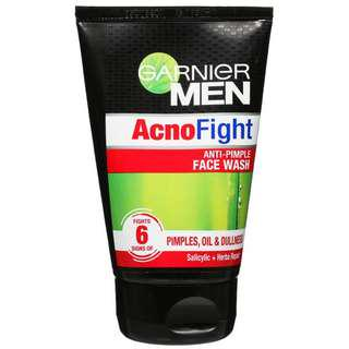 Garnier Men Acnofight cleanser