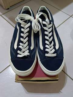 遊學前出清 VANS STYLE 36(Suede)Dress Blues 尺寸US10.5