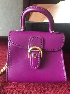 Delvaux purple brilliant charm