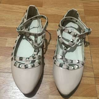Cute Valentino shoes inspired flats