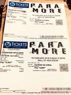 Paramore Concert in Manila Tickets