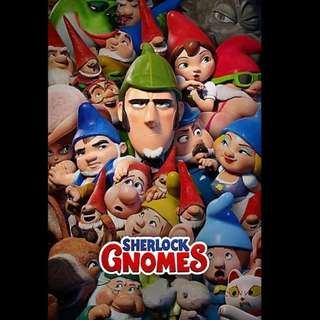 [Rent-A-Movie] SHERLOCK GNOMES (2018) [MC004]