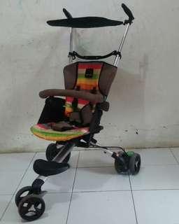 Stroller baby wave