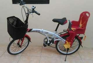 Sepeda Lipet Mulus