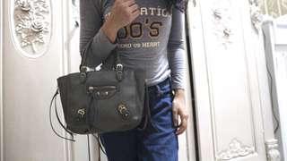 Balenciaga bag grey