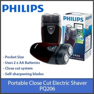 Philips Battery Powered Electric Shaver PQ206