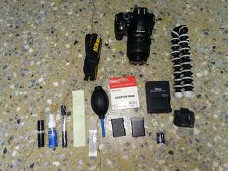 🚚 Sale, DSLR Camera NIKON D3200 18-55 mm VR Kit