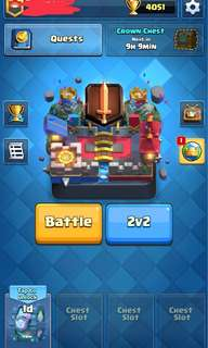 CLASH ROYALE 5.7K GEMS(PRO ACCOUNT)