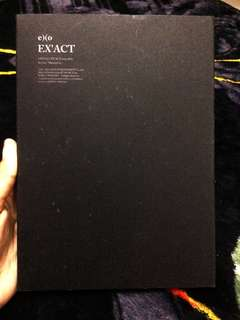 EXO EX'ACT ALBUM MONSTER KOREAN VERSION