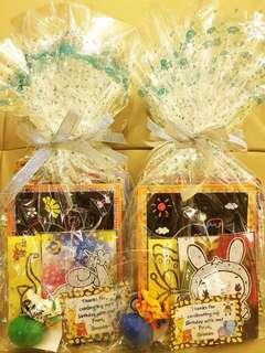 Goodie bag, goody bag, craft for kids, birthday goodie bag