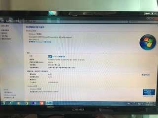 賣i3-2100. 4G 硬碟500g. 顯卡 gts450