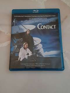 Contact (US Code A Blu Ray)