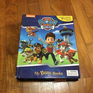 Paw Patrol Storybook With 10 Figurines And A Playmat
