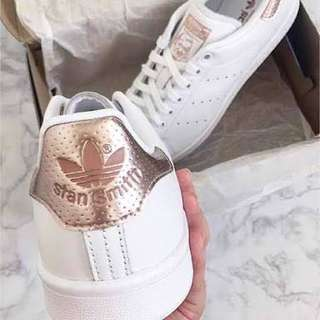 Adidas Stan Smith Rose Gold Tab