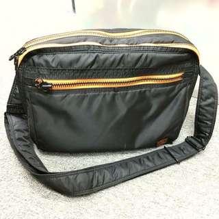 ICE FIRE - SCENE Black Shoulder Bag