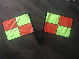 Soccer Referee Flags