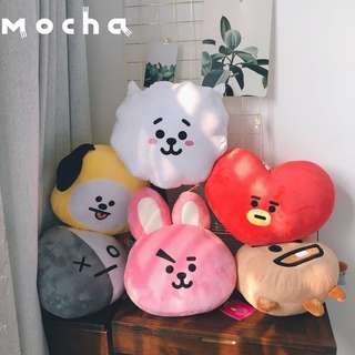BT21 FACE CUSHION REPLICA GRED AAA