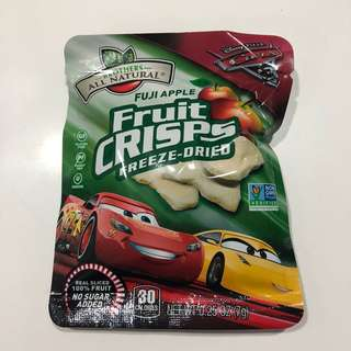 🚚 Brothers All Natural Disney Cars Apple Crisps Snack