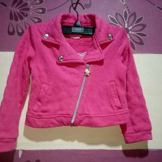 Authentic Hello Kitty Jacket(Size 3-4y/o)