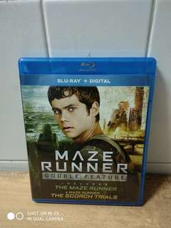 Double Feature - The Maze Runner & Maze Runner the Scorch Trials - Blu Ray - US import (original