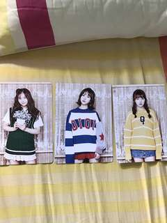 Gfriend postcard season greeting 2017