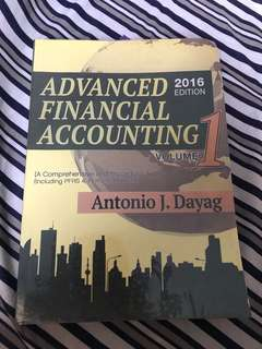 Advance Financial Accounting - Dayag