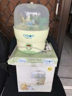 Baby crown steam sterilizer
