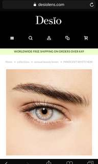 🚚 Desio Lens - Innocent White (-5.50)