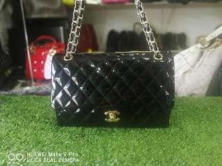 Chanel Vernish Double Flap