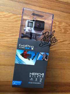 Brand New GoPro Hero4 Silver